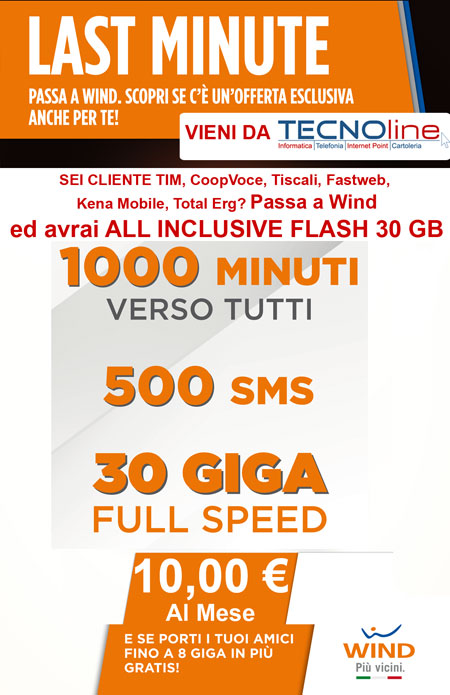 ALL INCLUSIVE FLASH 30 GB WIND